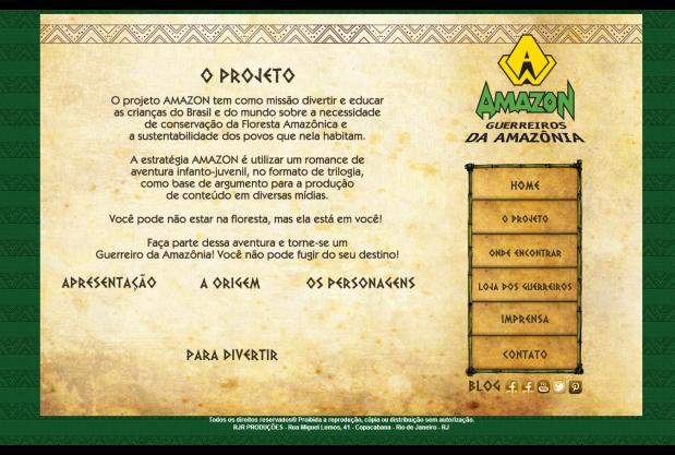 AMAZON - Guerreiros da Amazônia (1)