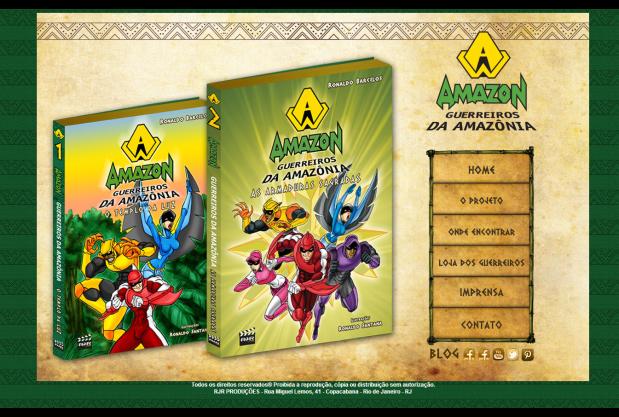 AMAZON - Guerreiros da Amazônia
